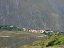 Village in Andes Stock Image