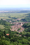 Village of Andlau in Alsace Stock Image