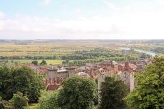 Village anglais Photographie stock libre de droits