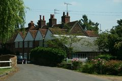 Village anglais photo stock