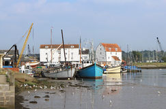 Village anglais de Corfe dans Dorset Photos libres de droits