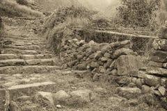 Village antique Photo stock