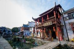 Village antique Chine, WuYuan, Jiangxi, Chine Photo stock