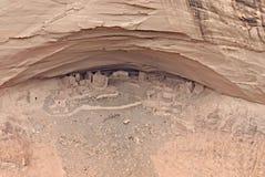 Village antique d'Indien de Navajo Image libre de droits