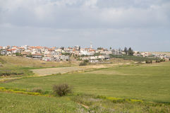 Village arabe Image libre de droits