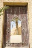 Village arabe abandonné photographie stock