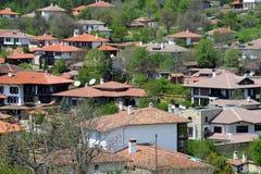 Village of Arbanasi in Bulgaria. Houses of Aranasi village near the city of Veliko Tarnovo in Bulgaria Royalty Free Stock Photo