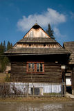 Village architecture in Slovakia Stock Images