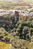 Village of Arcos de la Frontera  Royalty Free Stock Images