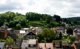 Village in the ardennes Royalty Free Stock Photos