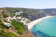 The village Arifana in Portugal Stock Image