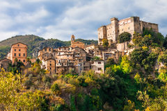 village Arsoli, Lazio, Italy Royalty Free Stock Images