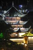 Village asiatique Chine de Fenghuang de pagoda Images libres de droits