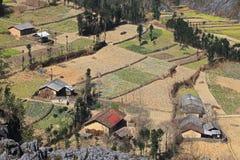 Village asiatique de minorité Photos libres de droits