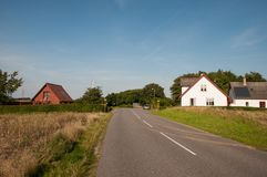 Village of Askeby in Denmark Royalty Free Stock Photo