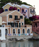 Village of Assos Royalty Free Stock Images