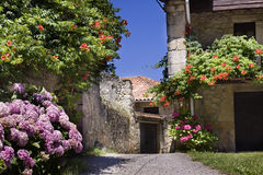 Village in Asturias Stock Photos