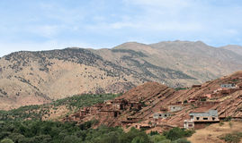 Village in Atlas mountains 3 Stock Photos