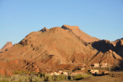 Village in Atlas Mountains Royalty Free Stock Photography