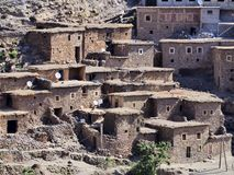 Village in Atlas Mountains, Morocco Stock Images