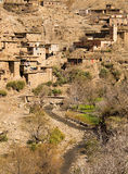 Village in the Atlas Mountains Stock Image