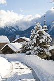 Village au dessus de Samoens Royalty Free Stock Images