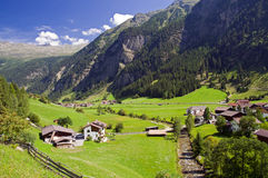 Village in Austria Stock Photography