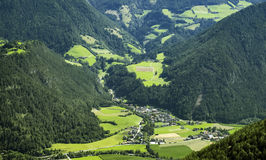 Village in the austrian alps Stock Photography