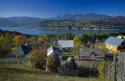 Village in autumn Royalty Free Stock Image