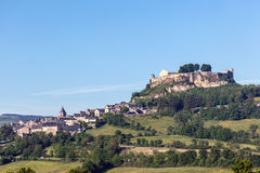 Village in Aveyron department, France Stock Photography