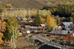 Village Baihaba Stock Photo