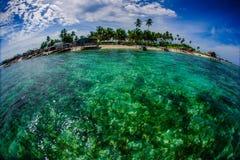 Village of Bajau Sea Gypsies Royalty Free Stock Images