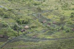 Village in Baliem Valley, West papua