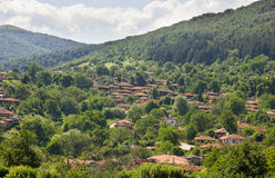 A village in the Balkan mountains Royalty Free Stock Images