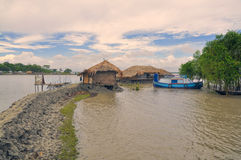 Village in Bangladesh Royalty Free Stock Photography
