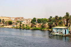 Village banks nile Stock Photography