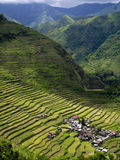 Village of batad. In the Philippines Stock Photo