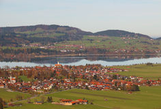 Village of Bavaria in Germany Stock Photography