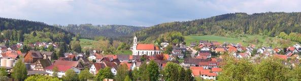 village bavarois Photographie stock libre de droits