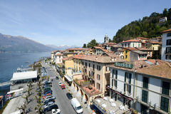 The village of Bellagio on lake Como Stock Image