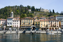 The village of Bellagio on lake Como Stock Images