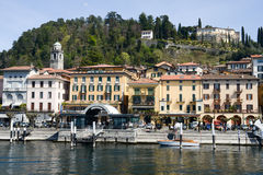 The village of Bellagio on lake Como Royalty Free Stock Photos