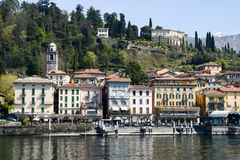 The village of Bellagio on lake Como Royalty Free Stock Image