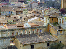 Village of Berlanga de Duero Royalty Free Stock Images