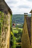 Village of Beynac-et-Cazenac at Dordogne Valley France Royalty Free Stock Photos