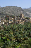 The village Bilad Sayt Royalty Free Stock Photo
