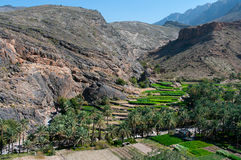 The village Bilad Sayt, Oman Stock Images