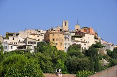 Village of Biot in France Royalty Free Stock Images