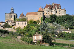 Village of Biron, Dordogne, France Royalty Free Stock Image