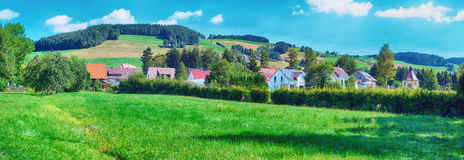Village in the Black Forest region of Germany Stock Photos